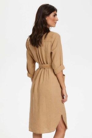 Robe Barbette Brune Part Two Dos