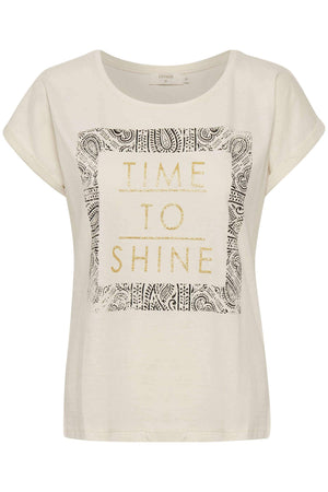 T-shirt Time To Shine Cream