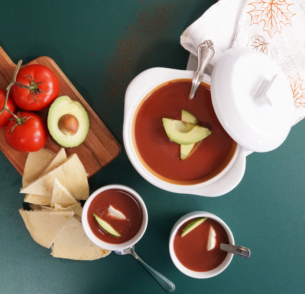 Chocolate and Tomato Soup