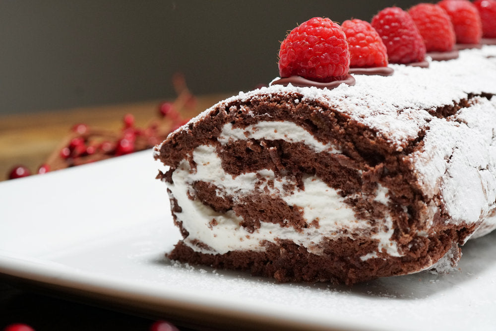 Chocolate Cake Roulade
