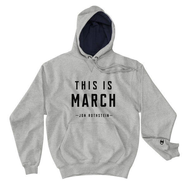 This is March Hoodie