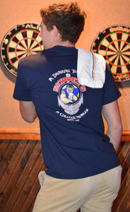 Navy Blue Short Sleeve T-Shirt