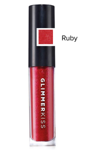 Ruby Glimmerkiss Liquid Lipstick