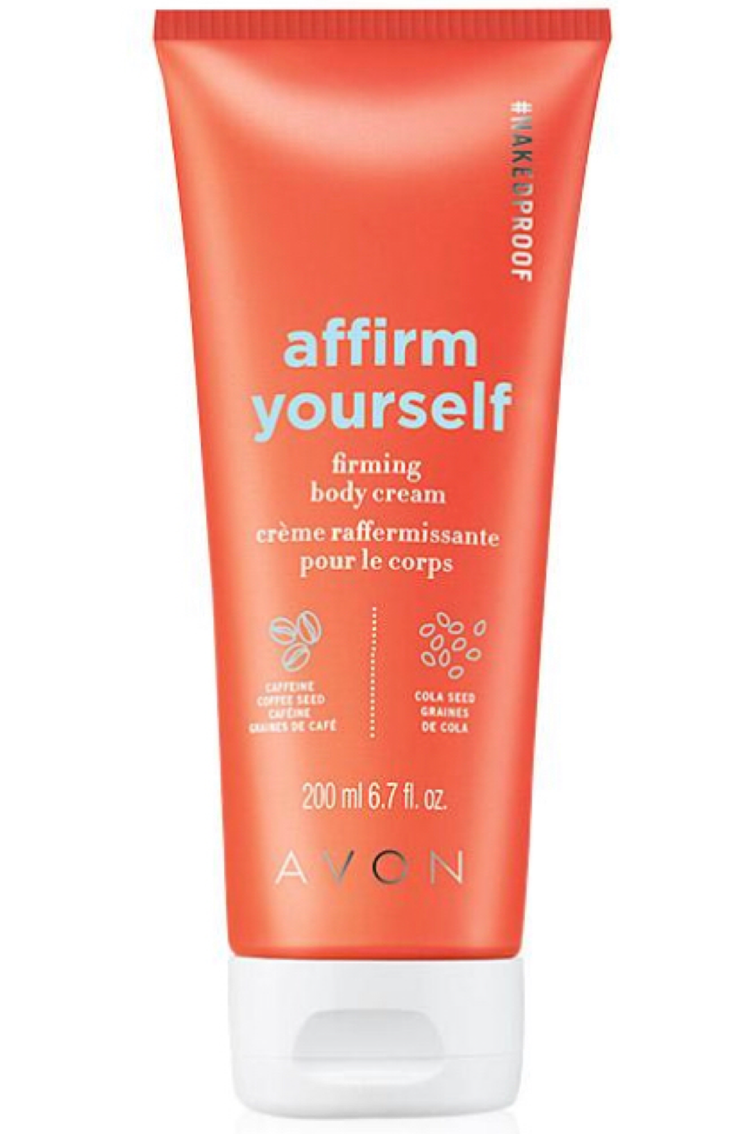 NAKEDPROOF Affirm Yourself Firming Body Cream 200ml