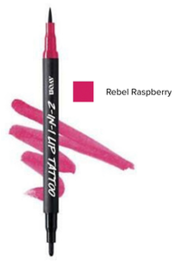 Rebel Raspberry 2-in-1 Lip Tattoo Lip Line & Fill Duo