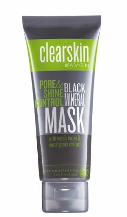 Clearskin Pore & Shine Control Black Mineral Mask 75ml