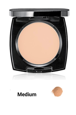 Medium  True Flawless Mattifying Pressed Powder