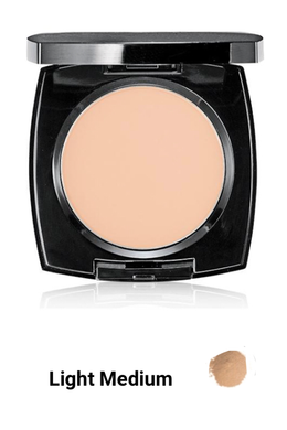 Light Medium  True Flawless Mattifying Pressed Powder