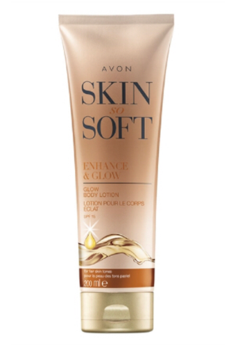 Skin so Soft Enhance & Glow Body Lotion - 200ml Fair Skin Tones