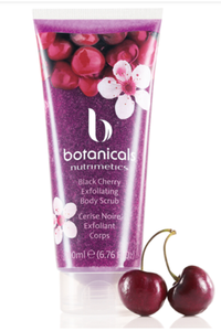 Black Cherry Botanicals Exfoliating Body Scrub 200ml