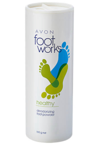 Foot Works Deodorizing Foot Powder 100 G