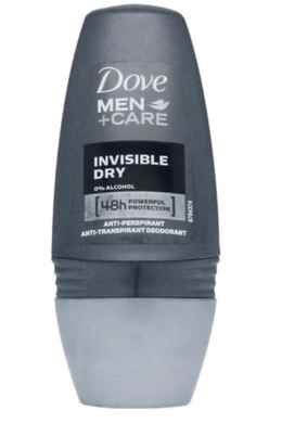 Dove For Men Antiperspirant Deodorant Invisible Dry Roll on 50ml