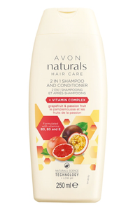 Grapefruit and Passionfruit 2-in-1 Shampoo & Conditioner - 250ml