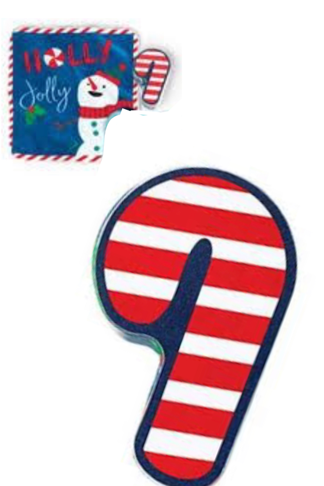 Candy Cane Kids Holiday Washcloth