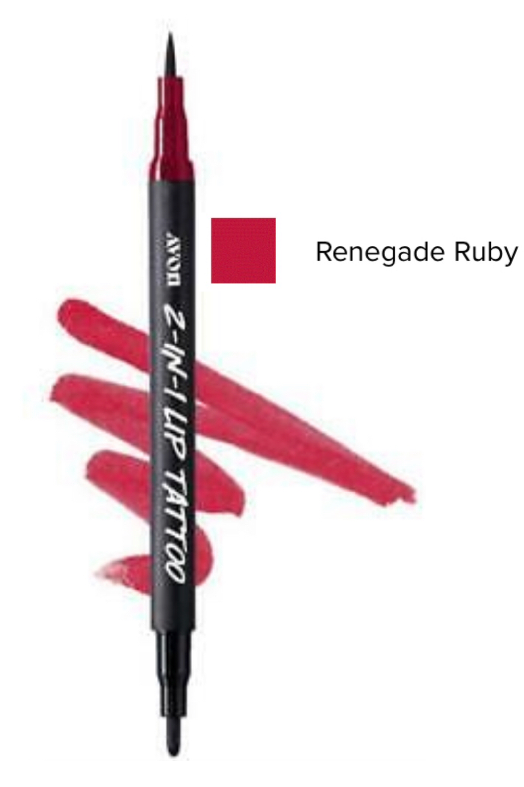 Renegade Ruby 2-in-1 Lip Tattoo Lip Line & Fill Duo