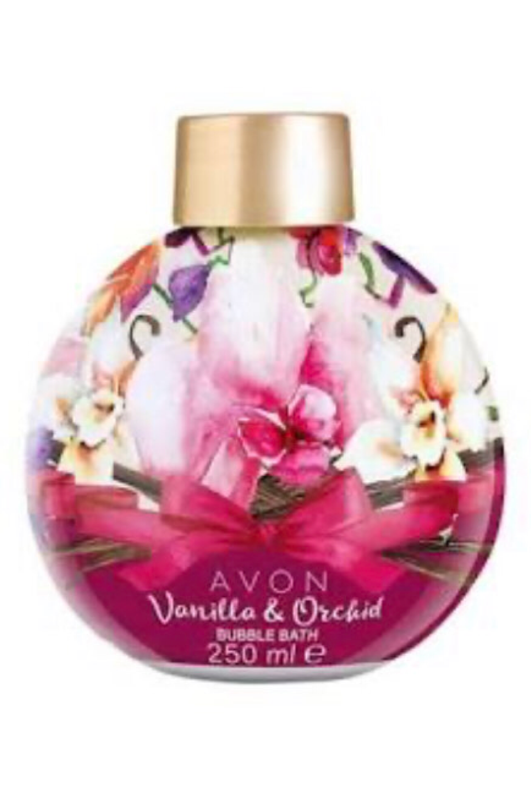 Vanilla Orchid Bubble Bath Bauble 250ml