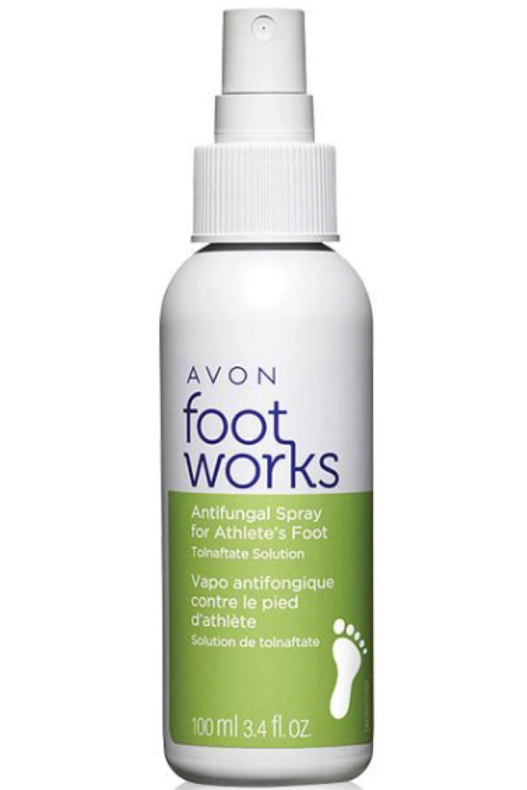 Foot Works Antifungal Spray for Athlete's Foot 100ml