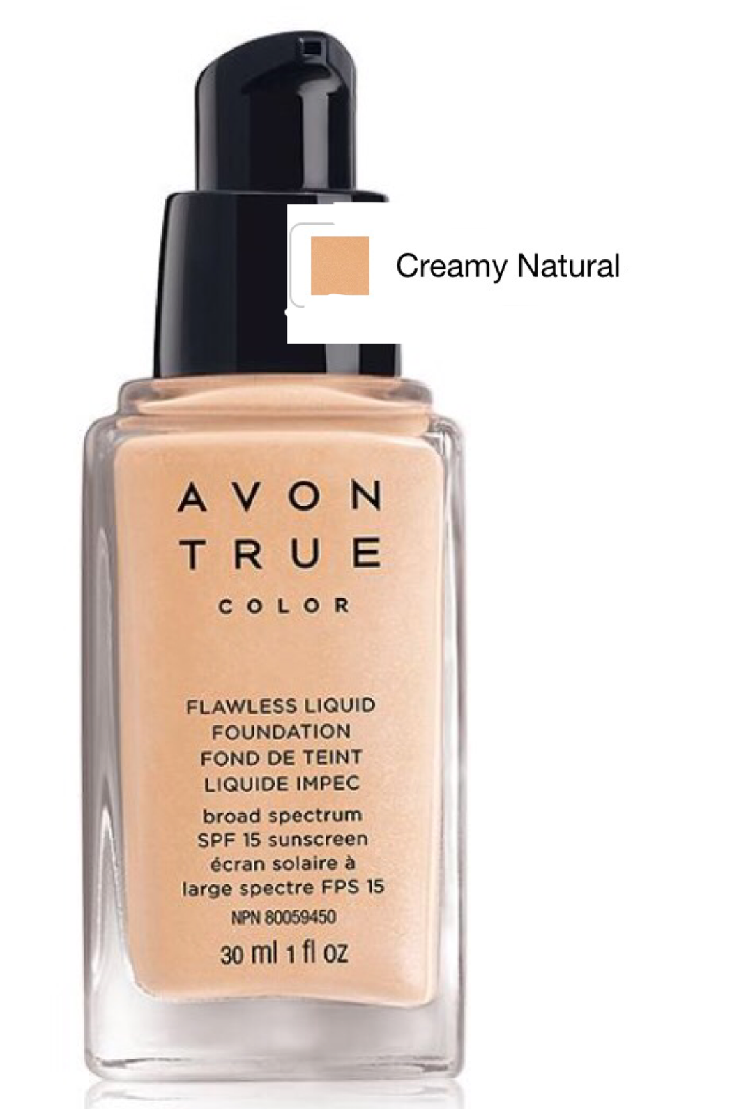 Creamy Natural Flawless Liquid Foundation 30ml