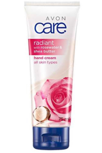 Avon Care Rose Water & Shea Butter Hand Cream 75ml