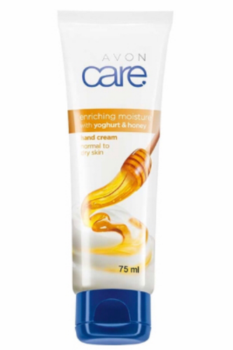 Avon Care Enriching Moisture with Yoghurt and Honey Hand Cream 75ml