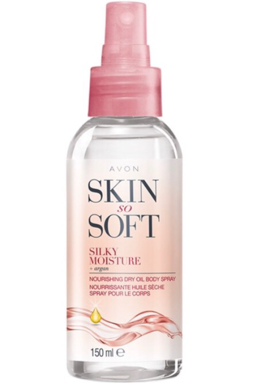 Avon Skin So Soft Silky Moisture Nourishing Dry Oil Spray 150ml