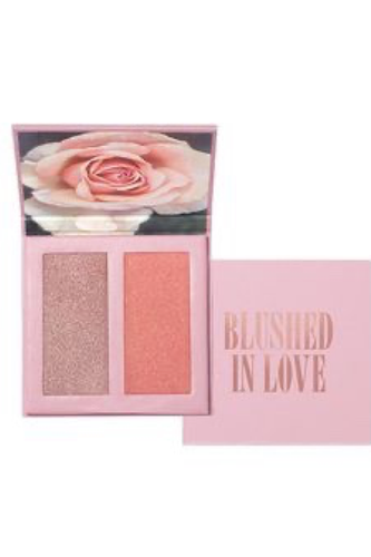 Blushed In Love Blush & Highlighter Palette