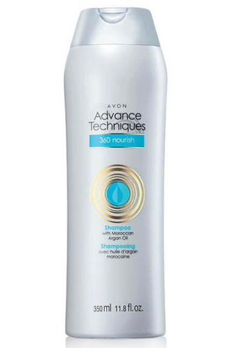 Advance Techniques 360 Nourish With Moroccan Argan Oil Shampoo 350ml