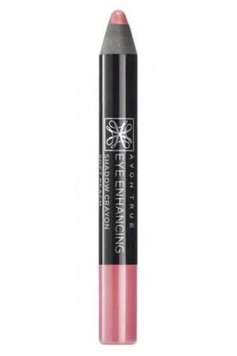 Soft Peach Avon True Eye Enhancing Shadow Crayon