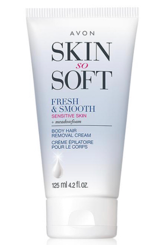 Skin So Soft Fresh & Smooth Sensitive Skin Body Hair Removal Cream 125ml