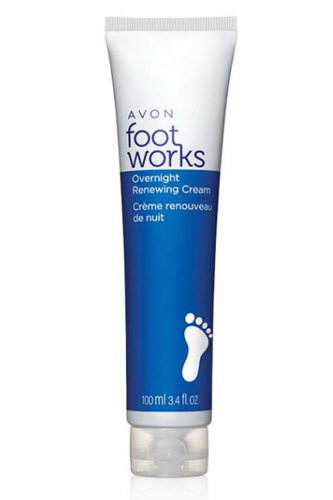 Foot Works Overnight Renewing Cream 100ml