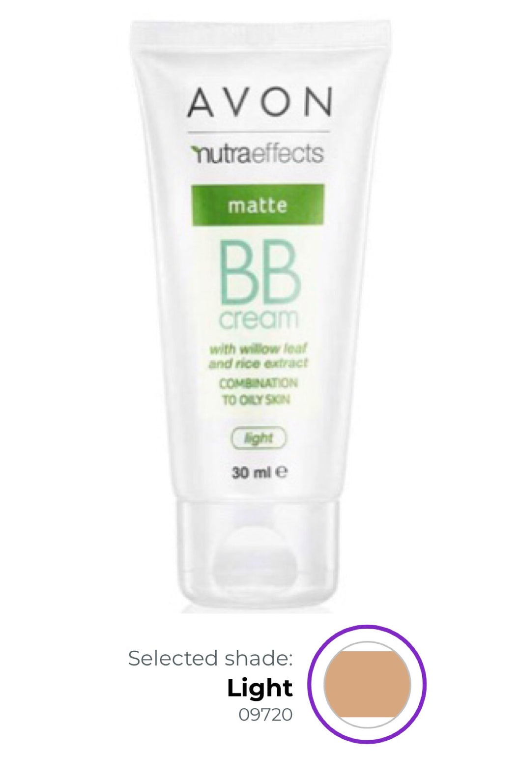 Nutra Effects Matte BB Cream LIGHT - 30ml