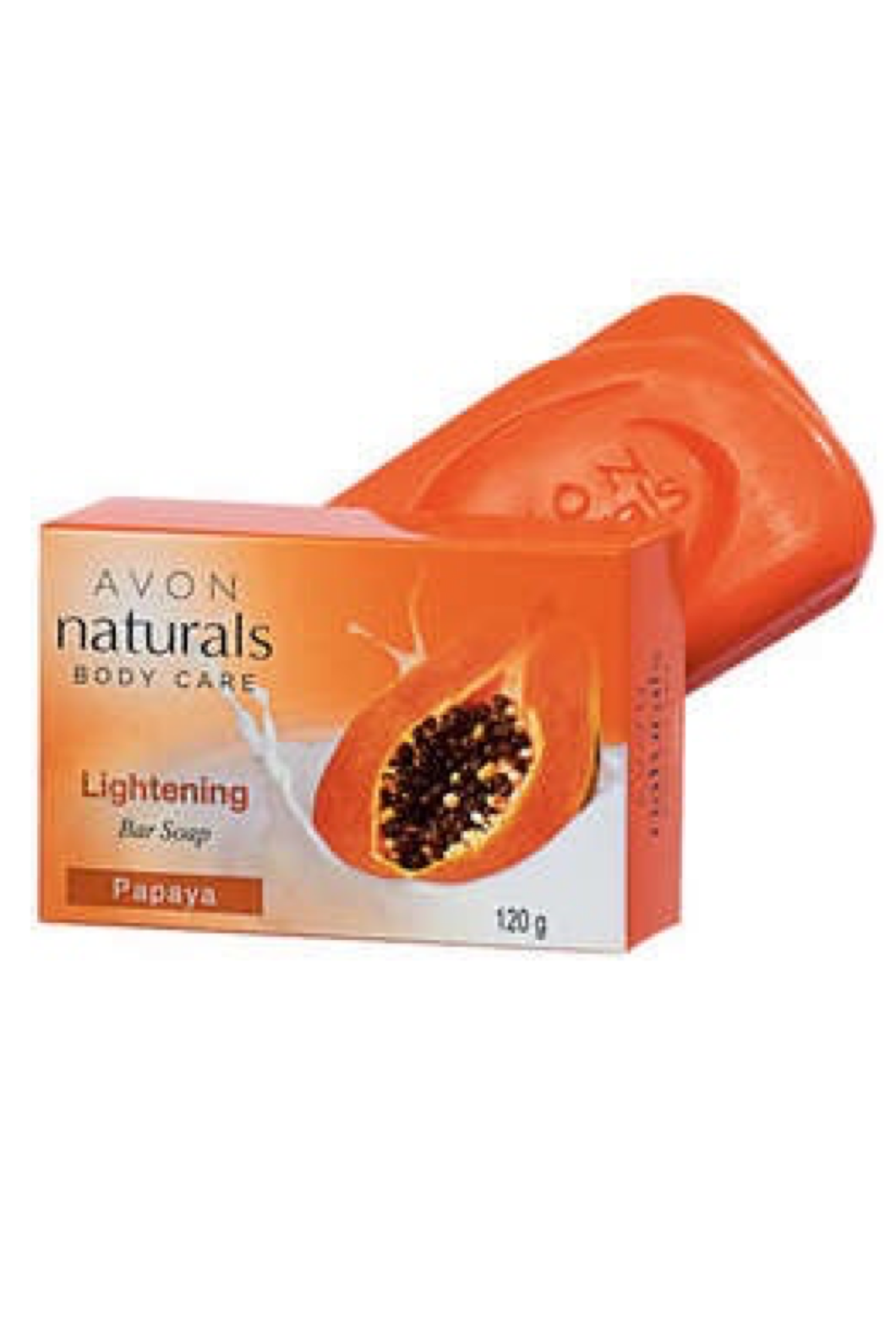 Naturals Lightening Bar Soap Papaya 120g