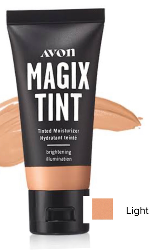Magix Tint Brightening Tinted Moisturizer  LIGHT 30ml