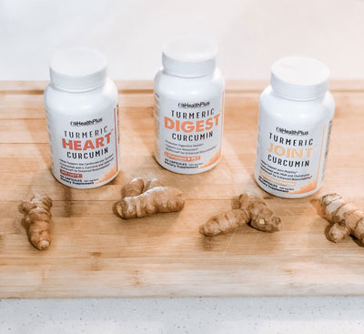 Secret Supplements for Moms: Turmeric Capsules
