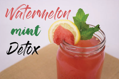RECIPE: Watermelon-Mint Detox