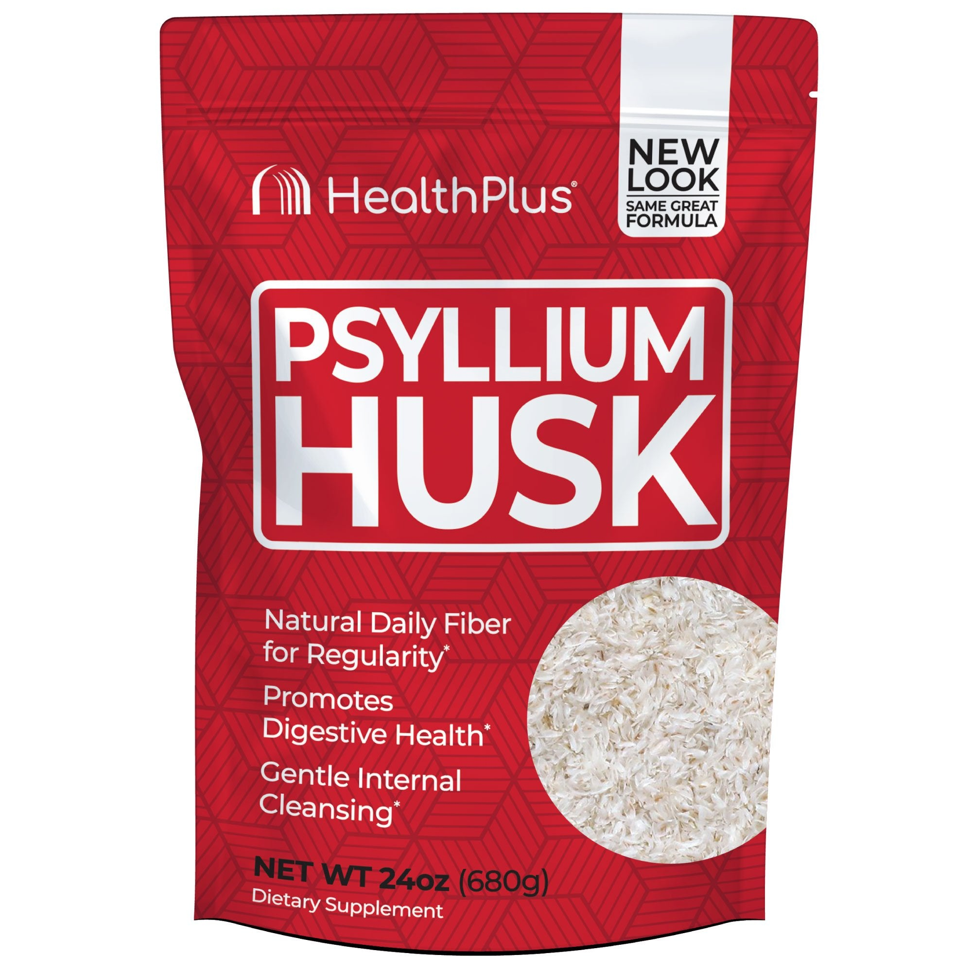 Pure Psyllium Husk Bag 24 oz. Powder