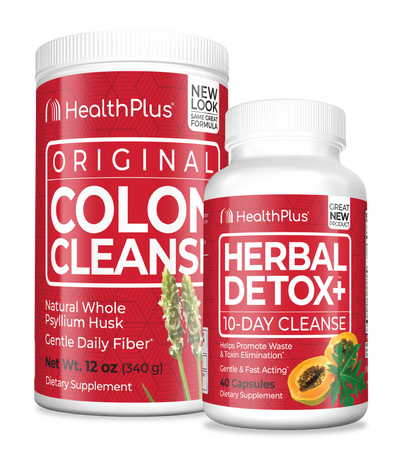 Detox + maintain with Colon Cleanse