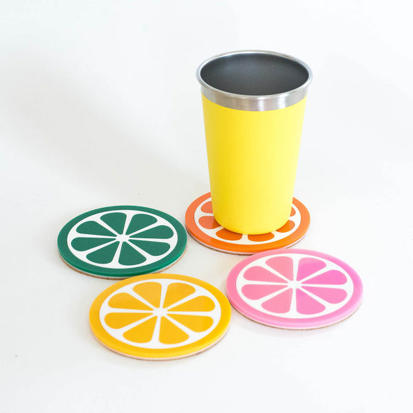 Citrus Coaster - 4 Pack