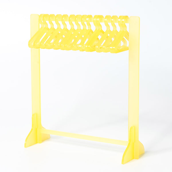 Clothing Rack Earring Hanger - Jelly Yellow
