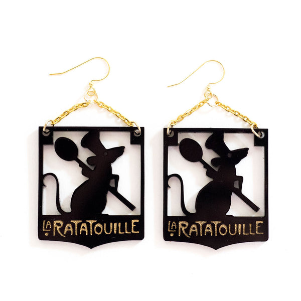 Ratatouille Earrings