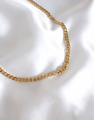 Gold Cuban Choker