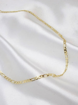 Gold Filled Figaro Necklace