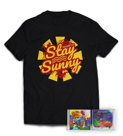 "Stay Sunny Shirt + Autographed ""Stay Sunny"" LP Bundle"