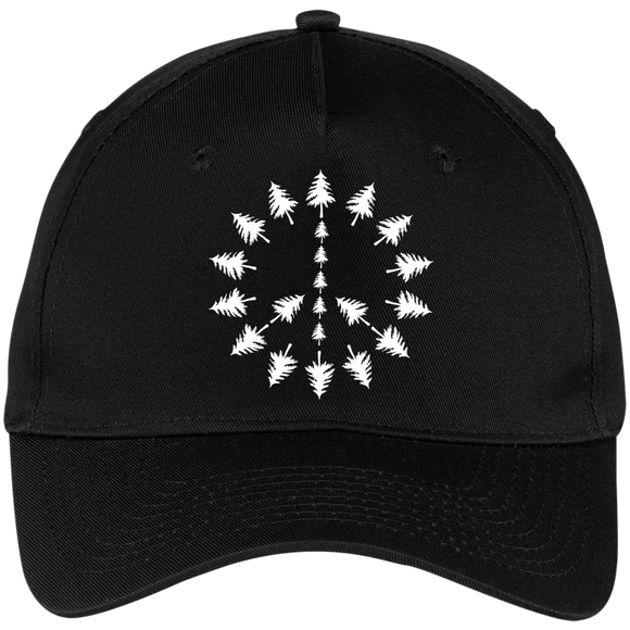 PEACE TREES - Embroidered Flexfit Cap