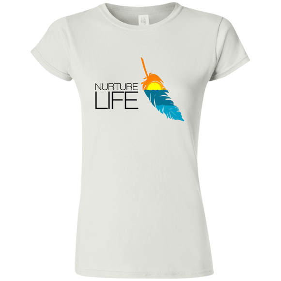 NURTURE LIFE -  Ladies' Softstyle Tee