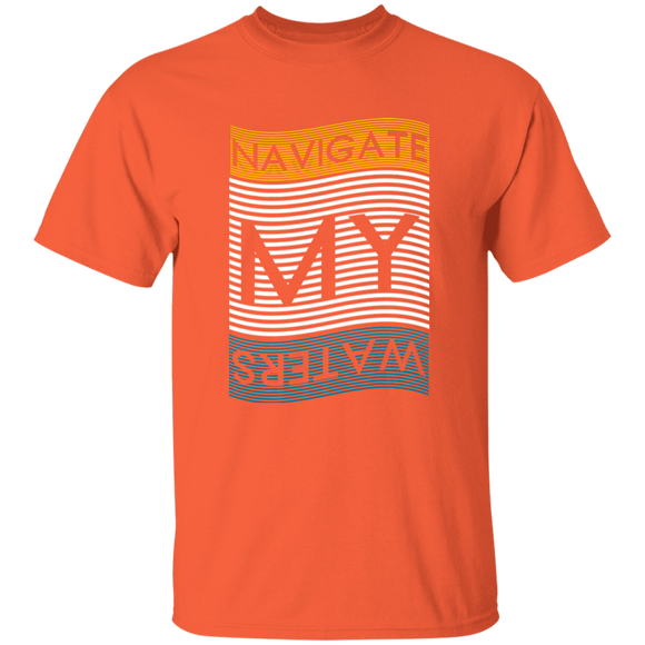 NAVIGATE MY WATERS - Mens' Cotton Tee