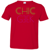CHIC GEEK - Toddler Tee