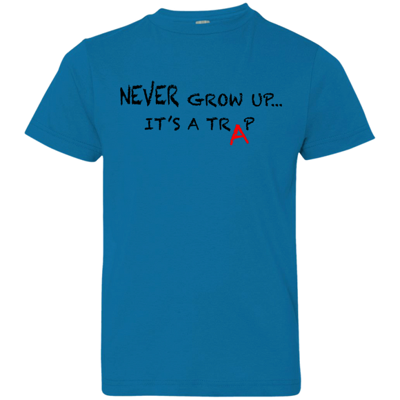 NEVER GROW UP - Kids Tee