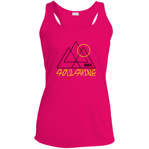 SOULSHINE - Ladies' Racerback Moisture Wicking Tank