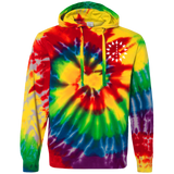 PEACE TREES - Unisex Tie-Dyed Emroidered Hoodie